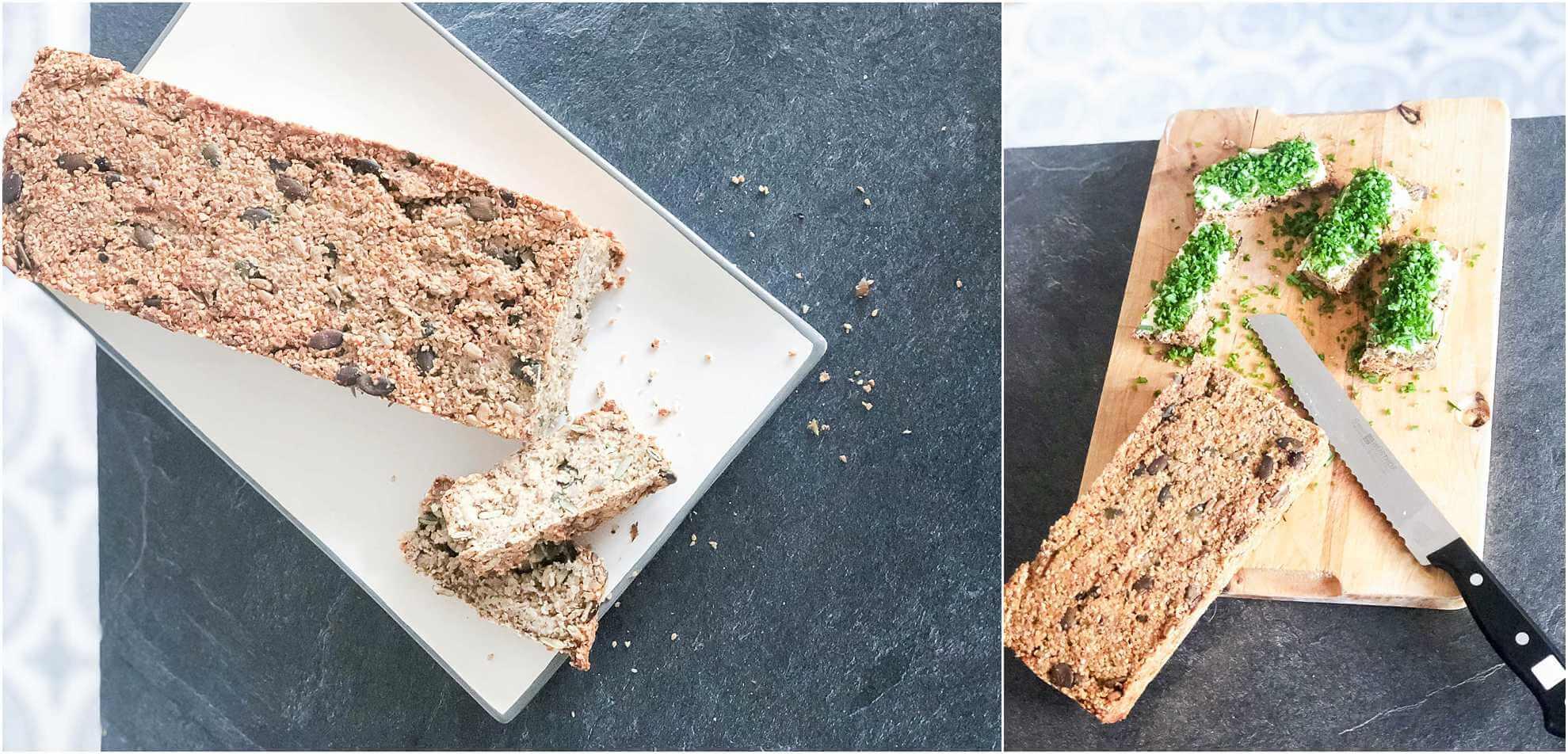 Anleitung glutenfreies und veganes Brot