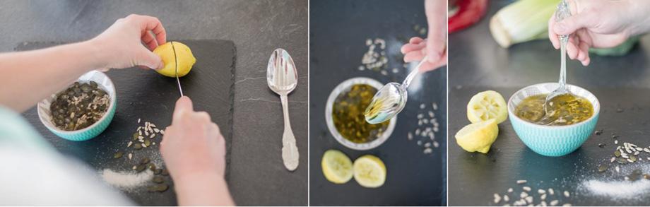 Dressing Salat Anleitung