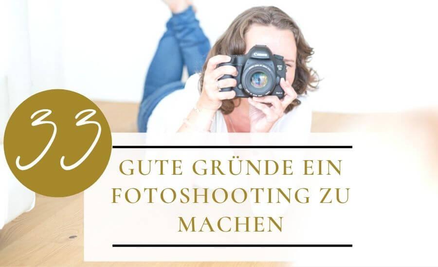 Gute Gründe Fotoshooting zu buchen