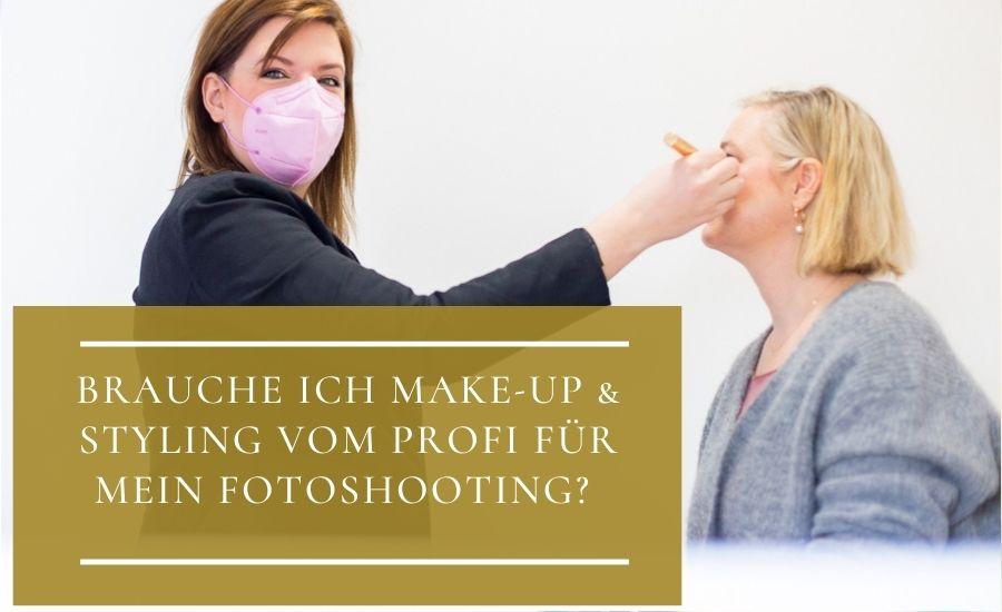 MakeUp & Styling fürs Fotoshooting vom Profi